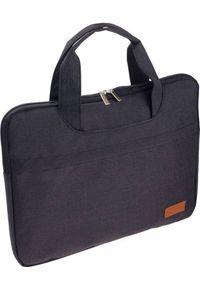 ROVICKY - Torba Rovicky Rovicky materiałowa torba na laptopa 15 duża uniwersalny. Materiał: materiał