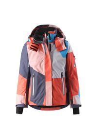 Kurtka narciarska dla dzieci Reima Frost 531430B. Materiał: poliester, materiał, poliamid, lycra. Wzór: gładki. Sezon: zima. Sport: narciarstwo