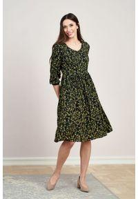 Marie Zélie - Sukienka Hypatia Alya. Materiał: bawełna, wiskoza, tkanina, materiał