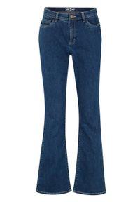 Dżinsy z materiału Positive Denim #1 Fabric bonprix niebieski. Kolor: niebieski