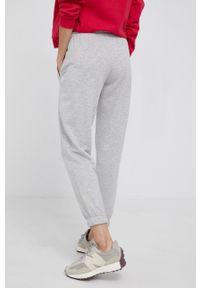 Drykorn - Spodnie Once. Kolor: szary. Materiał: dzianina. Wzór: melanż