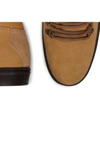 Big-Star - BIG STAR Sneakersy EE174188 Żółty. Kolor: brązowy