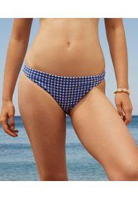 Elya Spe Majtki Bikini Od Kostiumu Kąpielowego - 42 - Niebieski - Etam. Kolor: niebieski. Materiał: materiał. Wzór: kratka