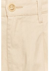 Kremowe jeansy loose fit Pepe Jeans
