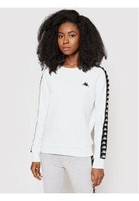 Kappa Bluza Ilary 309068 Biały Regular Fit. Kolor: biały