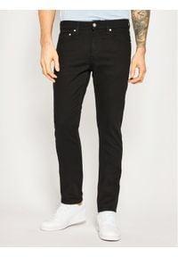Calvin Klein Jeans Jeansy Slim Fit J30J307718911 Czarny Regular Fit. Kolor: czarny. Materiał: elastan, poliester, bawełna