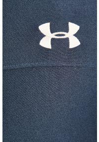 Niebieska bluza rozpinana Under Armour bez kaptura, na co dzień