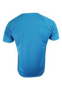Niebieski t-shirt Stedman raglanowy rękaw, sportowy