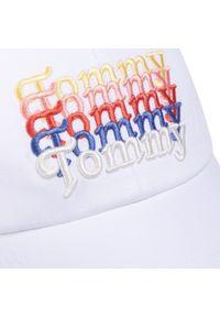 Biała czapka z daszkiem Tommy Jeans