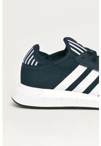 adidas Originals - Buty Swift Run X Shoes. Nosek buta: okrągły. Zapięcie: sznurówki. Kolor: niebieski. Sport: bieganie