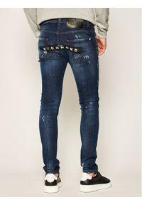 John Richmond Jeansy Skinny Fit Iggy MP20122JE Granatowy Skinny Fit. Kolor: niebieski. Materiał: jeans #2