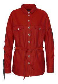 Rage Age Koszula Hotwired 2 Czerwony Slim Fit. Kolor: czerwony