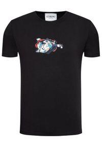 Czarny t-shirt Iceberg z motywem z bajki