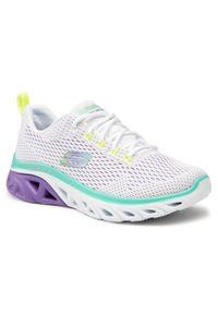 skechers - Sneakersy SKECHERS - Sweeter Days 149550/WLVM White/Lavender/Mint. Kolor: biały. Materiał: materiał. Szerokość cholewki: normalna. Obcas: na płaskiej podeszwie