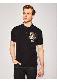 Czarna koszulka polo Just Cavalli polo