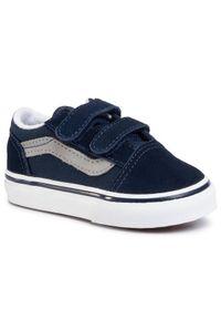 Niebieskie buty sportowe Vans Vans Old Skool