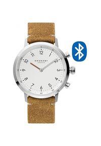 Kronaby Wodoodporny podłączony zegarek Nord A1000-3128. Styl: retro