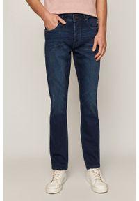 Niebieskie jeansy medicine casualowe, na co dzień, gładkie