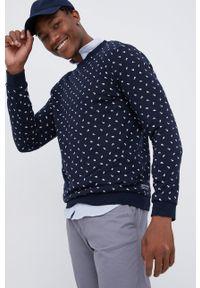 Tom Tailor - Bluza bawełniana. Okazja: na co dzień. Kolor: niebieski. Materiał: bawełna. Styl: casual