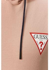 Bluza nierozpinana Guess casualowa, na co dzień, z kapturem