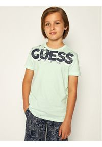 Zielony t-shirt Guess
