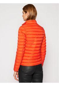 Pomarańczowa kurtka puchowa TOMMY HILFIGER