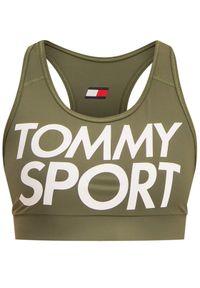Zielony top Tommy Sport sportowy