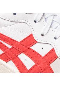 Białe buty sportowe Onitsuka Tiger na co dzień, z cholewką