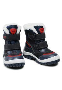 Niebieskie buty zimowe Lasocki Kids na spacer