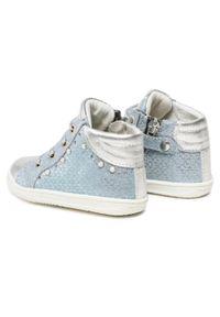 Primigi - Sneakersy PRIMIGI - 3403522 Avio. Kolor: niebieski. Materiał: skóra, zamsz. Wzór: aplikacja