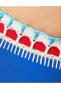 KIINI - Top od bikini Tuesday. Kolor: niebieski. Materiał: materiał. Wzór: kolorowy