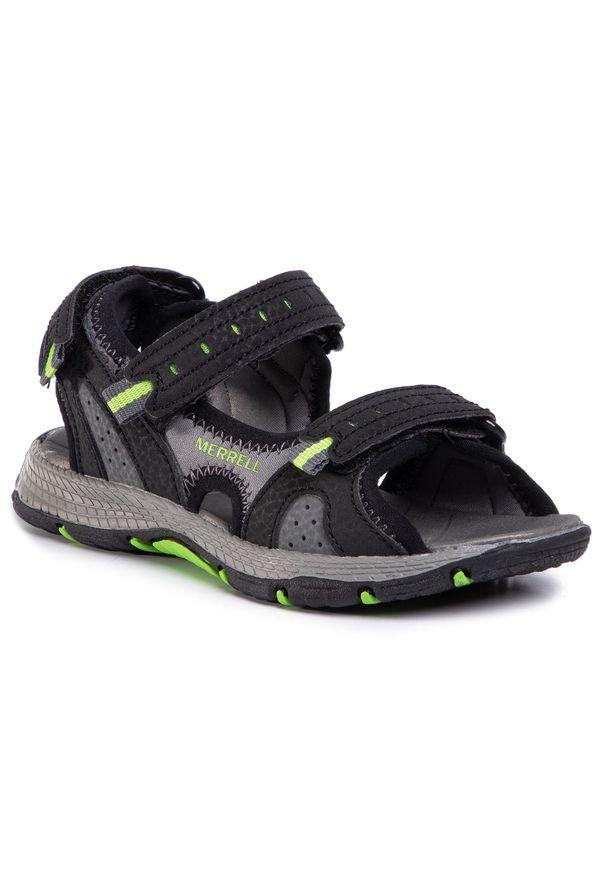 Czarne sandały Merrell