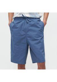 Reserved - Klasyczne szorty - Niebieski. Kolor: niebieski. Styl: klasyczny