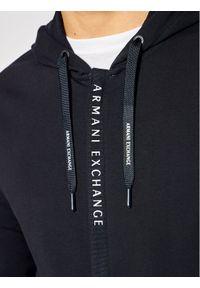 Armani Exchange Bluza 8NZM82 ZJH3Z 1510 Granatowy Regular Fit. Kolor: niebieski