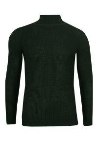 Zielony sweter Brave Soul na zimę, elegancki