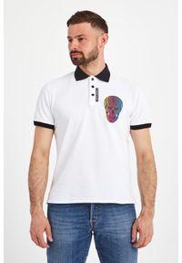 Koszulka polo Just Cavalli z aplikacjami, polo, na co dzień, casualowa