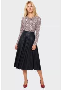 Greenpoint - Elegancka plisowana spódnica. Styl: elegancki