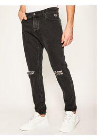Czarne jeansy MSGM
