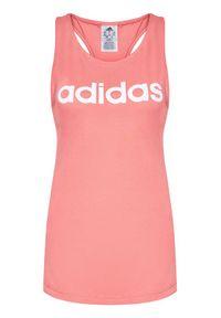 Adidas - adidas Top Essentials GL0629 Różowy Regular Fit. Kolor: różowy