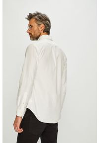 Biała koszula Polo Ralph Lauren na co dzień, długa, button down, casualowa