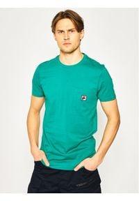 Fila T-Shirt Taren 687714 Zielony Regular Fit. Kolor: zielony
