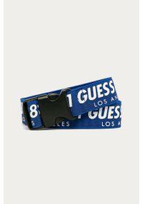 Niebieski pasek Guess Jeans