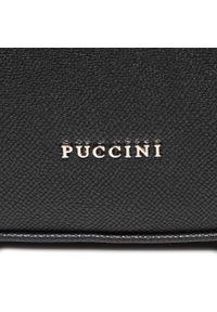 Czarny plecak Puccini casualowy