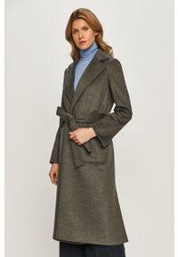 Szary płaszcz MAX&Co. bez kaptura, klasyczny, na co dzień