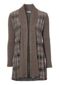 Beżowy sweter Freequent w prążki, na jesień
