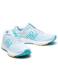 New Balance Buty W520LY7 Niebieski. Kolor: niebieski