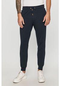 Niebieskie spodnie Guess Jeans na co dzień, casualowe