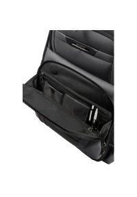 Czarny plecak na laptopa Samsonite biznesowy