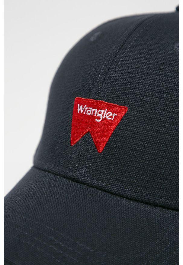 Niebieska czapka z daszkiem Wrangler