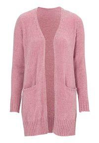 Różowy sweter Cellbes elegancki, długi, na co dzień
